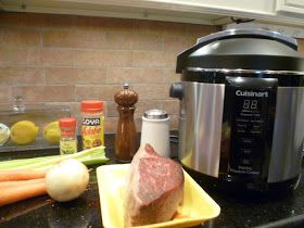 Kitchen Toys Make Cooking Fun!®: Down Home Pot Roast with Veggies. Gadget: Cuisinart Electric Pressure Cooker