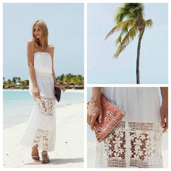Wunderschönes Kleid, perfekt für den Sommer geeignet! Damit bist du an jedem Strand der hingucker.