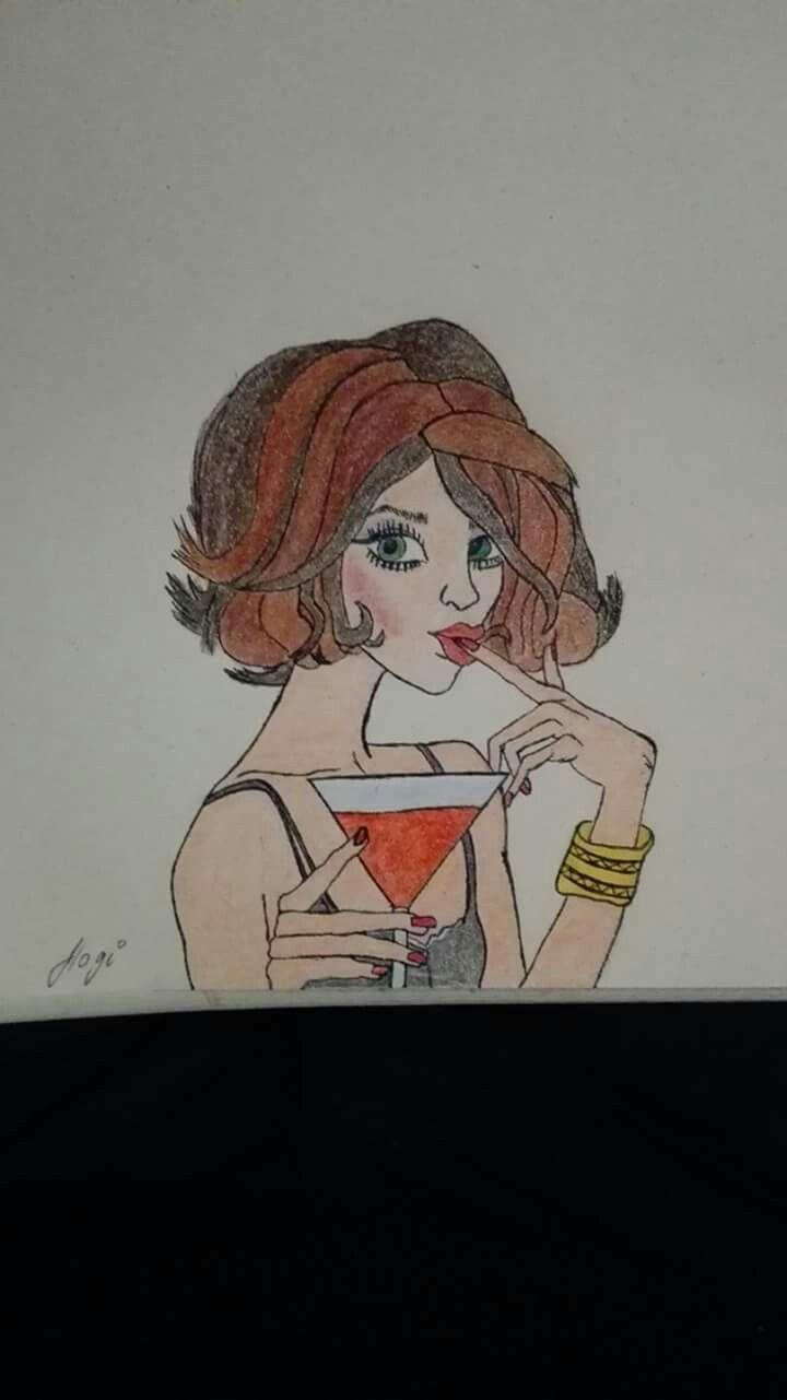 drink lady