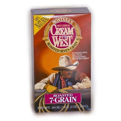 Cream of the West All-Natural Roasted 7-Grain Hot Cereal, 18-Ounce Box (Pack of 6) - http://sleepychef.com/cream-of-the-west-all-natural-roasted-7-grain-hot-cereal-18-ounce-box-pack-of-6/