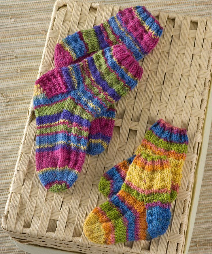 135 best Children's - Knit Socks, Booties and Mittens ...