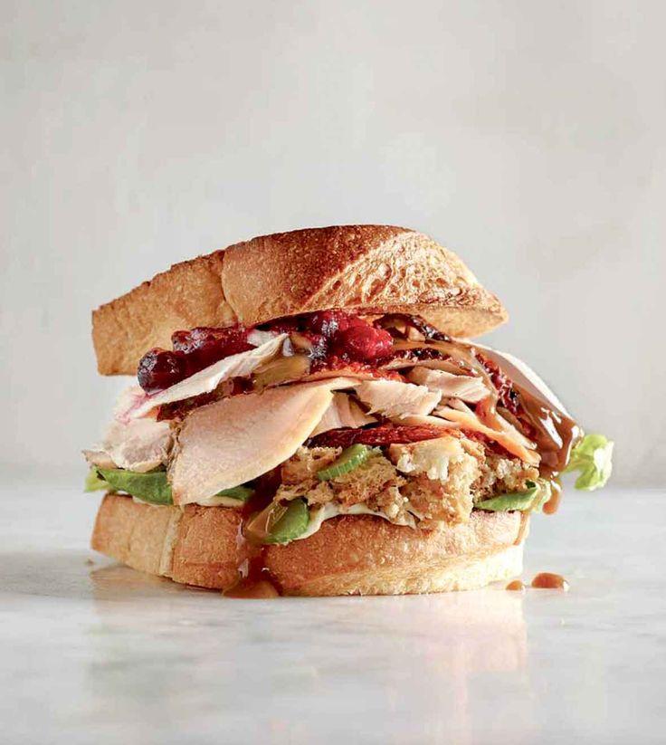 Turkey Cranberry Sandwich Recipe | Leite's Culinaria
