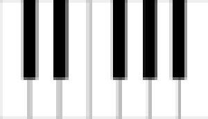 Die feinste Art, Klaviere zu tragen - Klaviertransport Berlin zeigt eine Oktave in Klaviertasten