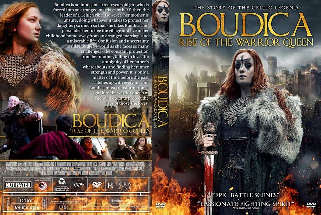 Boudica Rise Of The Warrior Queen Dvd Cover Dvd Covers Warrior Queen Custom Dvd