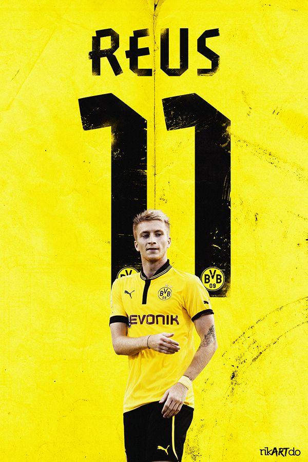 marco reus, reus, bvb, football, poster