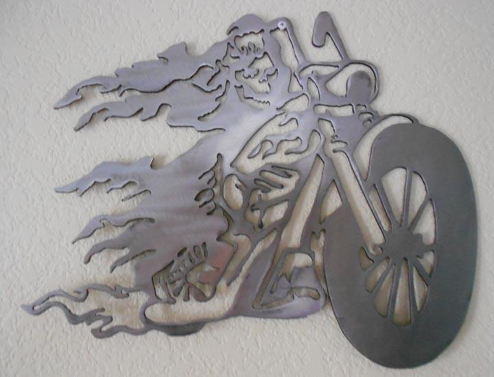 Motorcycle Wall Art 18 best metal art - motorcycle biker images on pinterest | metal