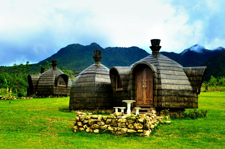 an igloo inspired camp houses at campuestohan highland resort