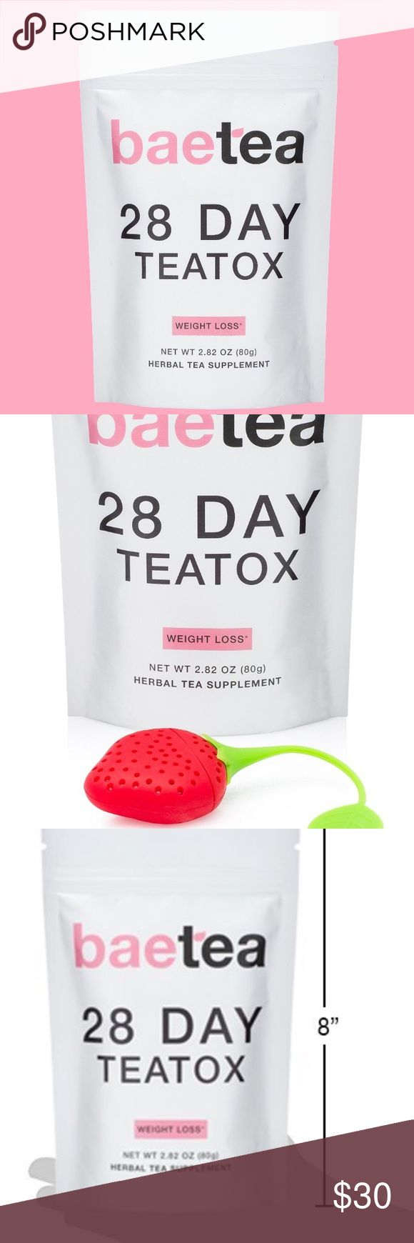 ✨NEW✨Weight-loss TEATOX FREE INFUSER INCL  28 DAY TEATOX - Happy Healthy Amazon Citizens Agree That Baetea 28 Day Teatox Is The Best They Ever Tried. REDUCE YOUR BLOATING - Helps You Reduce Bloat To Achieve That Flat Tummy. Aid Your Digestion and Get Rid of Toxins To Help Relieve Excessive Bloating. DELICIOUS TASTING TEA - Delicious Blend Of Traditional Organic Herbs With Oolong Wu Yi Tea From China's Fujian Province. Enjoy Choice Organic Green Tea, Organic Rooibos, Ginger; NO LAXATIVE…