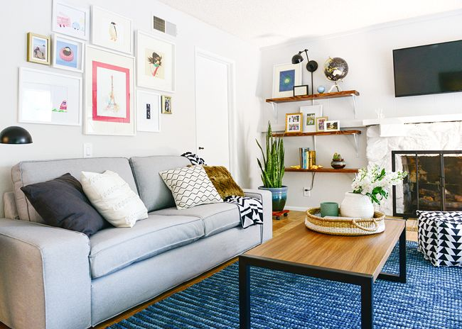 Lowes Spring Makeover reveal, a multi-generational household in Mission Viejo | Yellow Brick Home