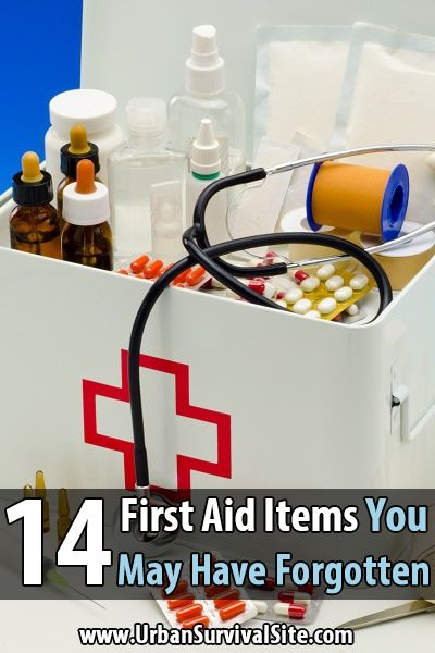 14 First Aid Items You May Have Forgotten Survival PreppingHomestead