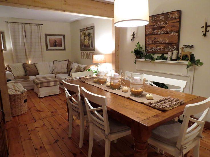 Wide Pine Floors Pottery Barn Sumner Table In Rustic Pine