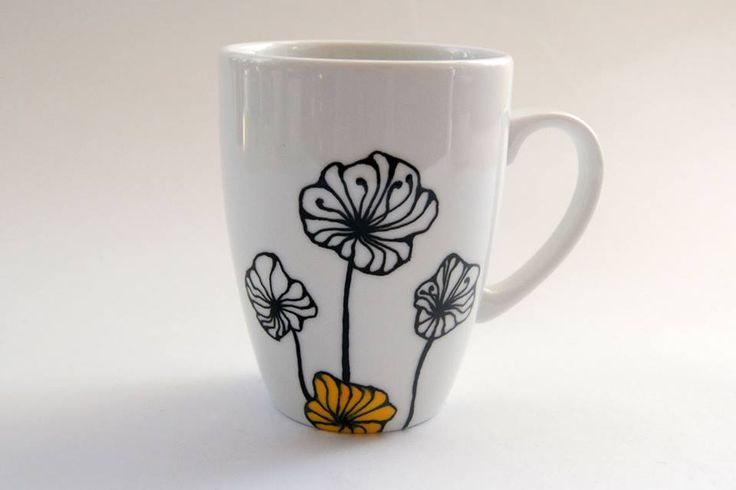 Hand painted mug by atelierChloe