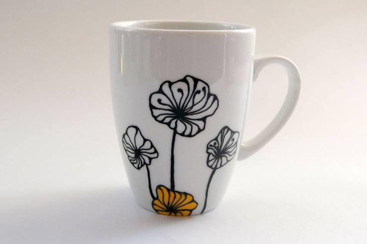 Hand painted mug by atelierChloe