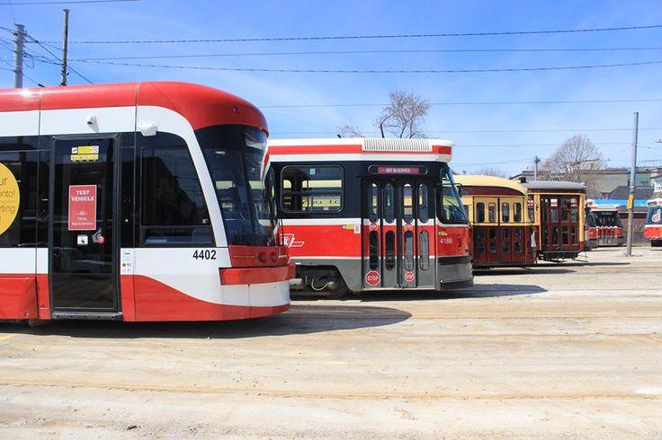 Four Generations of Toronto Streetcars