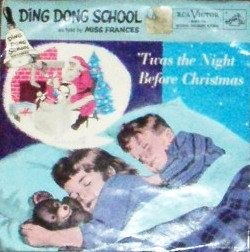 vintage TUNES  RCA Twas the NIGHT Before Christmas retro sweet by ThriftyDiversions, $15.00
