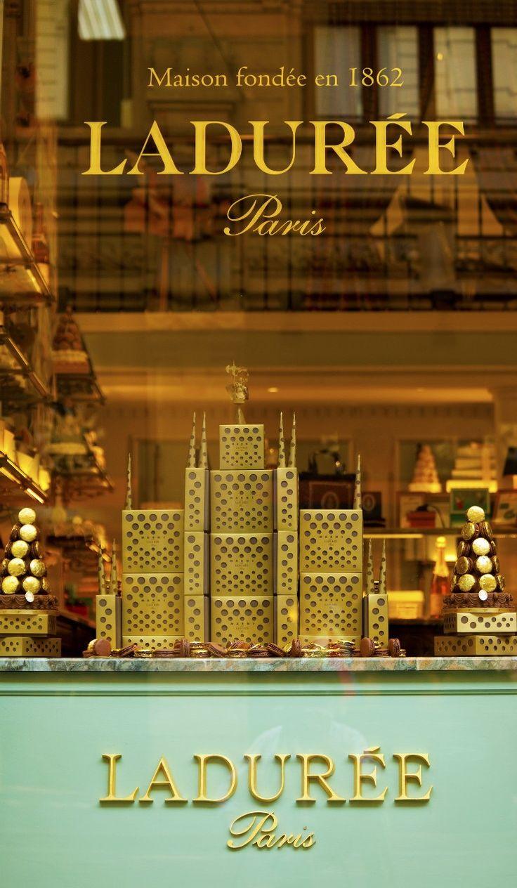 Ladurée luxury cakes, pastries & macaroons, Paris