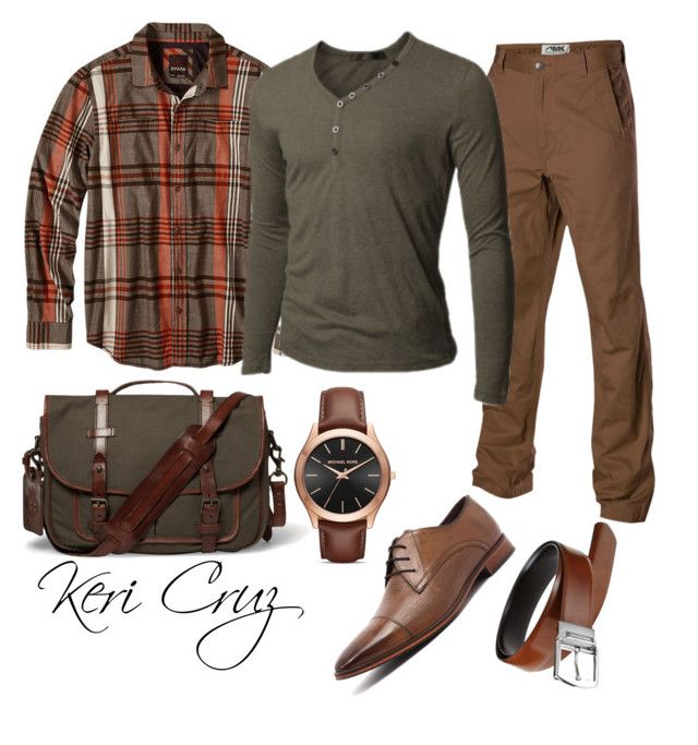 Men's Fall Fashion by keri-cruz on Polyvore featuring polyvore prAna Mountain Khakis Doublju Julius Marlow Michael Kors Polo Ralph Lauren men's fashion menswear clothing