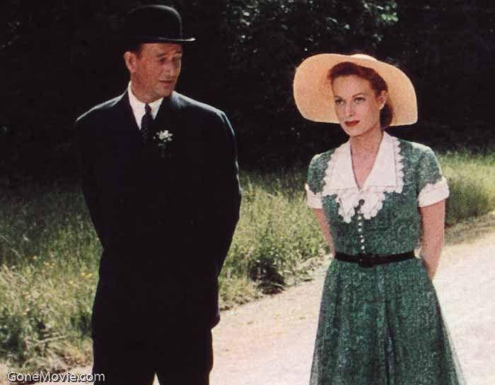 """The Quiet Man"" with John Wayne and Maureen O'Hara."