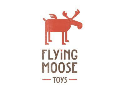 flying #moose #logo by sean farrell