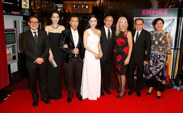 Donnie Yen and Michelle Bai Photos Photos - Albert Lee, Cecilia Wang, Donnie Yen, Michelle Bai, Teddy Chan, Amanda Nevill and guests attend the red carpet arrivals of 'Kung Fu Jungle' during the 58th BFI London Film Festival at Empire Leicester Square on October 12, 2014 in London, England. - 'Kung Fu Jungle' Premiere