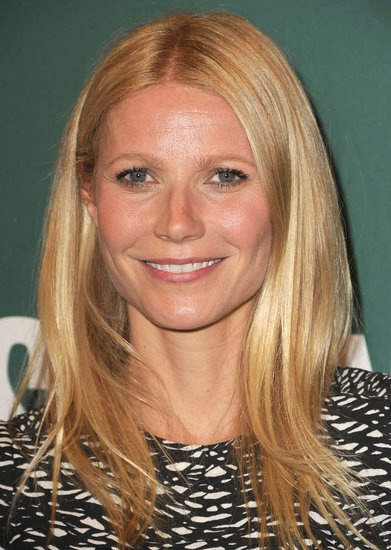 Gwyneth Paltrow's signature Light Blonde Golden shade is the perfect color to complement her pink-toned skin. Find your own best #hair #color match to cover gray hair at home here: http://www.haircolorforwomen.com/breakthrough-hair-color-system-your-salon-doesnt-want-you-to-know-about-p/