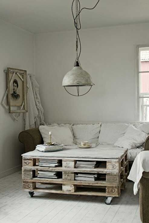 wanna make that pallet coffee table!