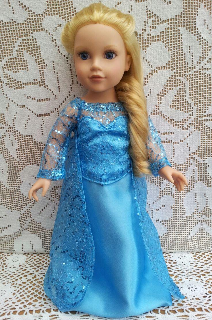 Like Princess Elsa Dress http://salstuffdolls.wordpress.com/hannah-gotz-and-poppy-designafriend/characters/