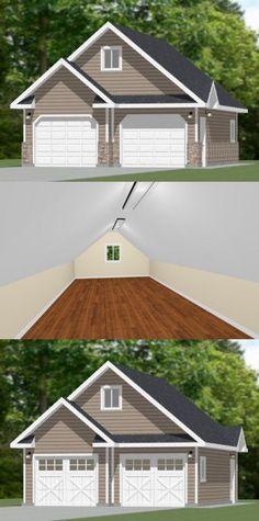 Best 25 2 car garage plans ideas on pinterest garage for 24x30 garage cost