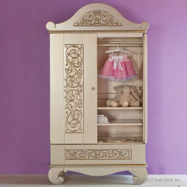 Bratt Decor Chelsea Armoire Antique Silver Available At