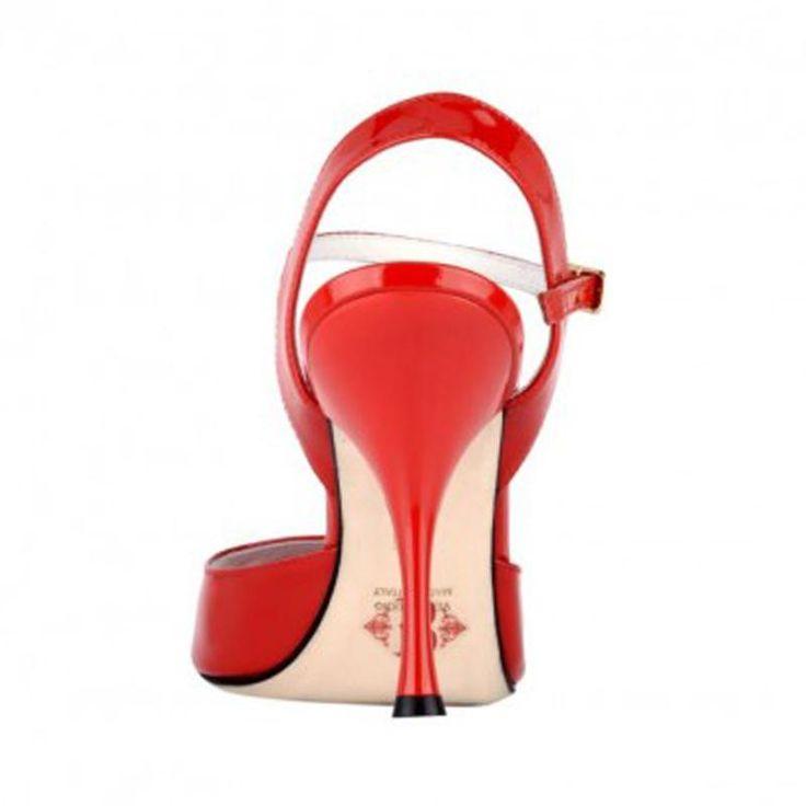 BANDOLERA A1 VR ROUGE-T9.<br>Chaussure de tango