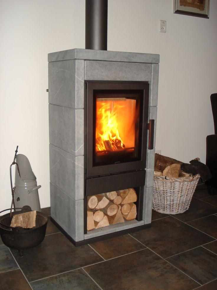 Vrijstaande speksteen houtkachel Wanders Olaf Eco van fabrikant @wandersfires