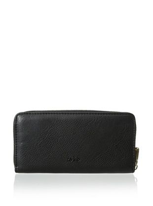 46% OFF co-lab by Christopher Kon Women's Zip-Around Wallet, Black