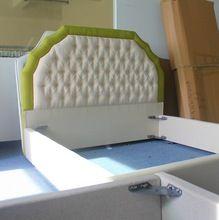 Diferentes de lino cuadrada cama de tejido de moda americano de gama alta estilo para doble(China (Mainland))