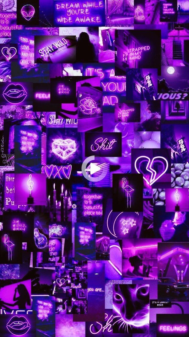 Quotes Wallpaper Iphone Neon Purple Aesthetic Wallpaper Loockscream Cores In 2021 Wallpaper Iphone Neon Purple Wallpaper Iphone Purple Wallpaper purple wallpaper iphone