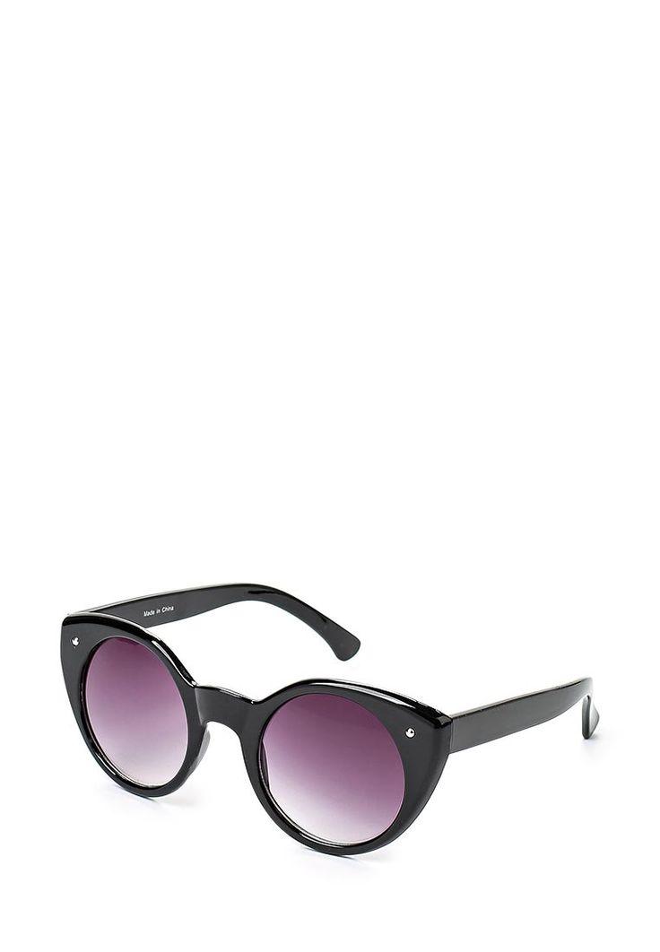 """Солнцезащитные очки """"кошачьи глаза"""" LOST INK в пластиковой оправе. Детали: круглые градиентные линзы"""