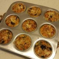Muffin Tin Omelets