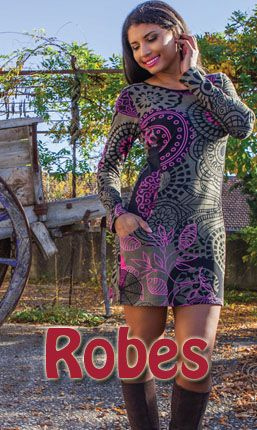 Une très grande sélection de robes à manches longues pour l'hiver et pas cher aux imprimés ethniques et originaux. Retrouvez toute la gamme sur www.akoustik-online.com.