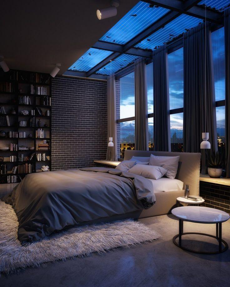 Wooden Platform Bed Minimalist Bedroom Design Modern House Design Modern Houses Interior Contemporary Bedroom
