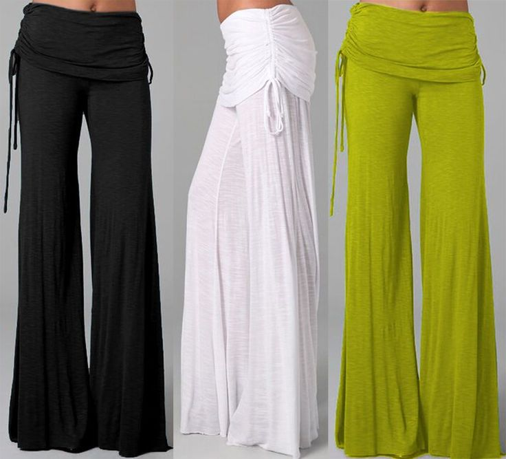 Women Harem Yoga Loose Long Pants Belly Dance Boho Sports Wide Leg Trousers