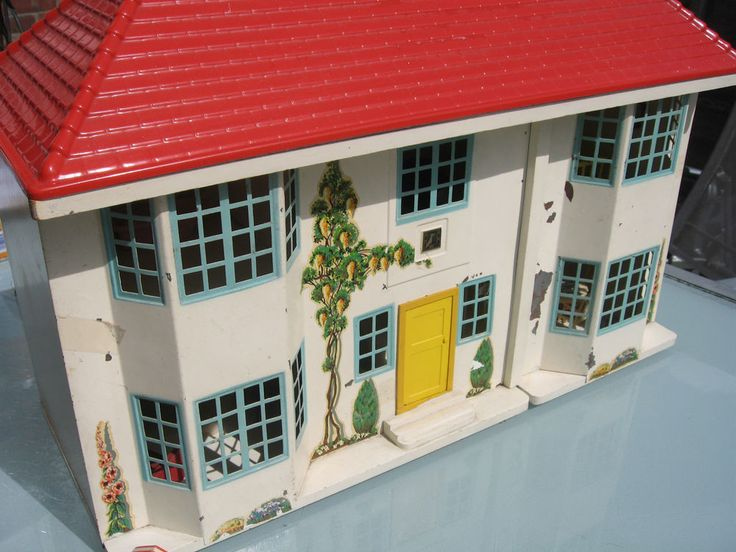 VINTAGE 1960 S TRIANG DOLLS HOUSE NO 65 WITH ORIGINAL