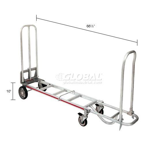 Hand Trucks & Dollies | Hand Trucks-Convertible | Magliner® 4-Wheel Snack Truck 500 Lb. Cap. STA8AM1 | 251790 - GlobalIndustrial.com