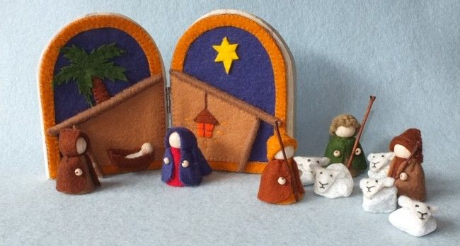 Nativity by Atelier Pippilotta