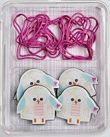 Clarence & Pip Magnet and Paperclip Set