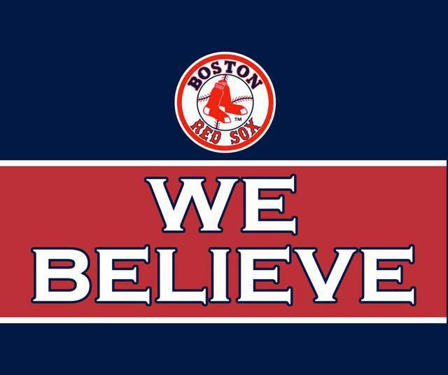 Red Sox! We believe
