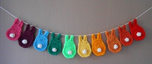 Sping Easter garland