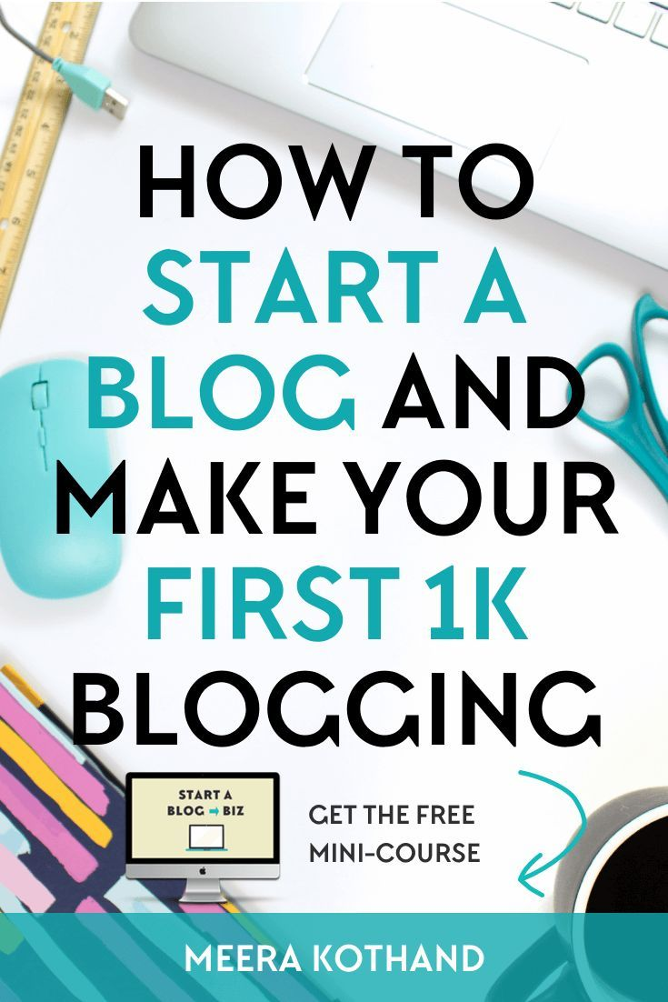 Are you a beginner looking to start a WordPress blog and make money blogging? Making your first 1K is a big milestone and this post I give you tips and ideas on how I made my first 1K blogging and how you can too. #blogging #making #money #blog #start #entrepreneur #business #online