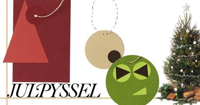 Julpyssel:+Gör+egna+juletiketter+till+klapparna