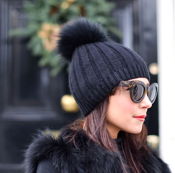 bobble hat and ROC eyewear lornaluxe shot by @bohotailor