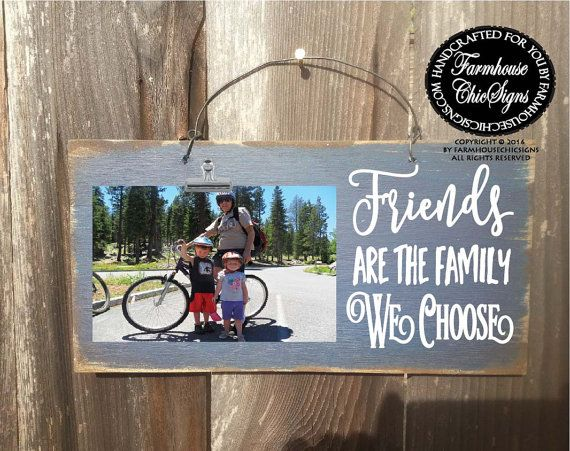 best friend, best friends gift, gift for friends, friend gift, friend quotes, friendship, friend picture frame, friends are family we choose