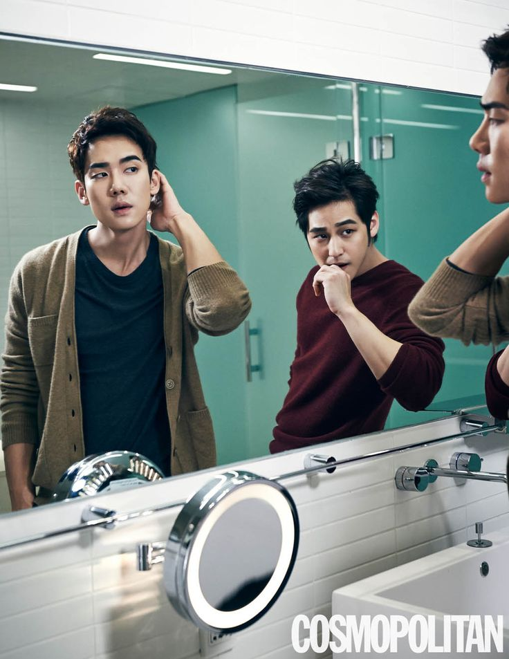 Kim Bum and Yoo Yun Suk - Cosmopolitan Magazine January Issue '15